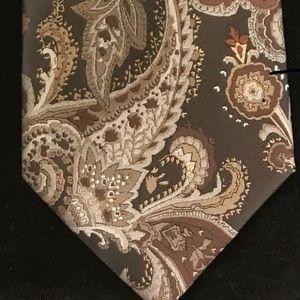 Vintage Vittorio Farina Polyester Men's Tie